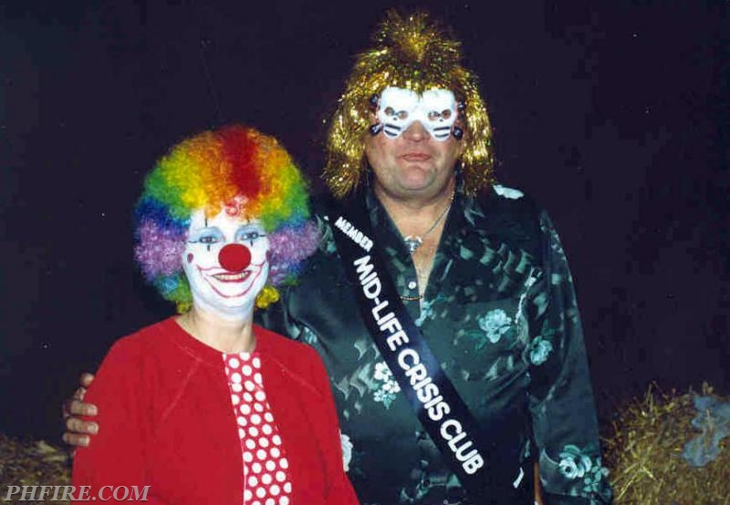 Ron and Lorraine at one of the PH Firefighter Association Halloween Parties.