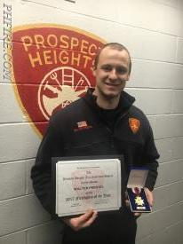 2017 PHFD Firefighter of the Year Wally Prestel